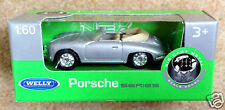 Welly 1:60 scale Porsche 356 Cabriolet - silver