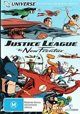 JUSTICE LEAGUE : THE NEW FRONTIER (DCU movie)   DVD - Region 2 UK Compatible