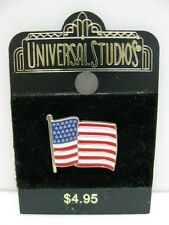 AMERICAN FLAG LAPEL PIN United States USA Badge Pin from Universal Studios