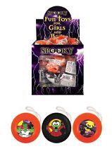 3 - 36 Halloween Mini Yo-yo's Retro stocking party bag filler yoyo return top