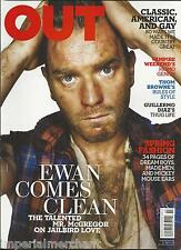 Out gay magazine Ewan McGregor Spring fashion Vampire Weekend Guillermo Diaz