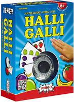 Amigo 1700 Halli Galli Kartenspiel Kinderspiel Familienspiel Gesellschaftsspiel
