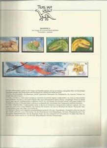 81555/ Dinosaurier Fauna Tiere ** MNH OHNE VORDRUCK DOMINICA