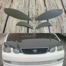 For Lexus Gs300 Gs430 JZS160 Toyota Aristo Headlight Eyelids Eyelashes Eyebrows