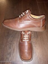 Mens Yello Miles Leather Shoes Size 6 Uk In Good Condition