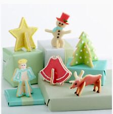 New listing Nordic Ware 3D Stand up Christmas/Holiday Series Cookie Cutter Set-12 pieces