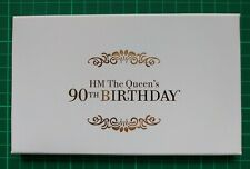 The Queen's 90th Birthday 2016 Limited Edition 'Gold' PSB Prestige Stamp Booklet