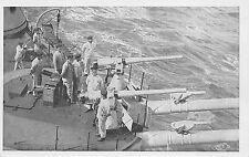 265) WW1, MARINA, ARTIGLIERIA ANTISILURANTE SU NAVE.