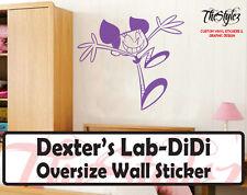 Dexter's Lab -Didi Custom Wall Oversize Wall Sticker