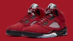 Jordan 5 Retro Raging Bulls DD0587-600 • Men's Size 12.5 •  FAST SHIPPING
