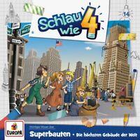SCHLAU WIE VIER - 014/SUPERBAUTEN.DIE HÖCHSTEN GEBÄUDE DER WELT   CD NEW
