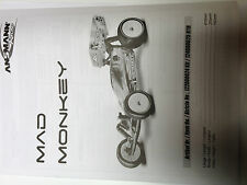 Receta para mad Monkey Ansmann racing Elektro Buggy 122000024 kit manual