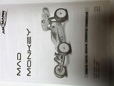 Bauanleitung für Mad Monkey Ansmann Racing Elektro Buggy 122000024 Kit Manual