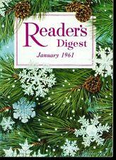 Vintage Reader's Digest Magazine January 1961 Word War III Communists Plans