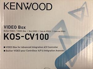 Kenwood KOS-CV100 Video Box for Advance Integration A/V Controller