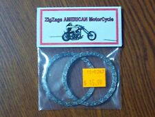Exhaust Port Gaskets for Harley Evo Evolution Twin Cam CLEARENCE was $16 + S/H