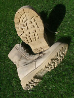 Rocky 789 Military Army Desert Hot Weather US Made Combat Boots 4.5 XW GC #19