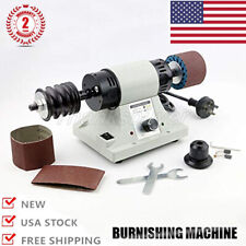 110V Leather Burnishing Polishing Machine Leather Burnisher Machine 0-8000RPM U
