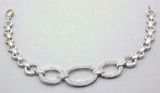 Natural  1.32 Carats Diamonds Bracelet 14k White Gold *FREE APPRAISAL & SHIPPING