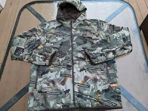 Under Armour Men's Size Large Loose Brow Tine Mid Season Jacket  UA Forest Camo