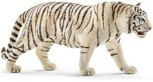 <>< Tiger White 14731  Sweet strong Schleich Anywheres a Playground