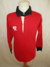 Rare maillot de rugby vintage RCT Toulon années 1980 HEURTEFEU Rouge Taille 10 a
