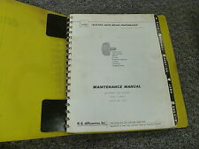 R G LeTourneau F804A Log Stacker Loader Shop Service Repair Manual Book