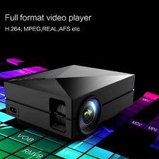 GM60 1000Lumens LED 1000:1 Contrast Radio 800x 480 Resolution Mini LCD Projector