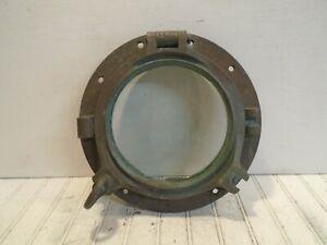Vintage 12in Brass Porthole