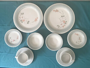 10 Impressions by Daniele Stoneware Pieces Dinner Plates Etc Riverside Like New