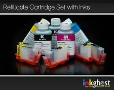5 x HP 564 compatible Refillable Cartridges + 100ml refill inks HP 564, HP 920