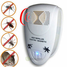 Magnetic Electronic Ultrasonic Anti Rat Mouse Bug Mosquito Flea Pest Repeller