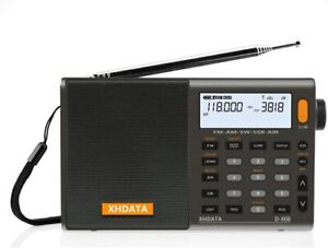XHDATA D-808 Portable Radio FM/Shortwave/MW/LW SSB AIR RDS Full Band (1013)