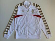 AC Milan Men's Tracksuit Top Jacket Size M White