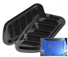Auto Car Decorative Air Flow Intake Scoop Bonnet Side Fender Vent Hood US