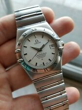 Omega Constellation Chronometer 368.1201 Automatic Stainless Steel Watch As Is