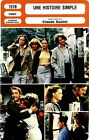 Fiche Cinéma. Movie Card. Une histoire simple (France) Claude Sautet 1978