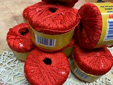 SEQUINS RED 1 BALL 25g 110 yards *CLOSEOUT*