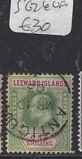 LEEWARD ISLANDS (P1610B)  KE  1/-   SG 26    VFU