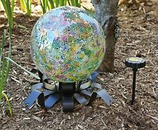 Evergreen Enterprises Eg491557 Solar Gazing Ball Stand (Set of 1) No Tax