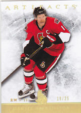 12-13 Artifacts Daniel Alfredsson /25 GOLD Spectrum Senators 2012