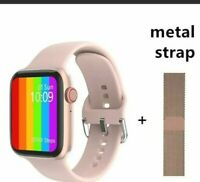 2021 1.75 Full HD Smart Watch 6 Make/Answer Call TEMPERATURE GPS Heart Monitor