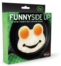 New Fred Funny Side Up Frog Shaped Fried Eggs Mould Cooking Kitchen