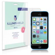 iLLumiShield Matte Screen Protector w Anti-Glare/Print 3x for Apple iPhone 5C