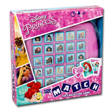 Top Trumps Disney Princess Match Board Game NEW