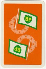 Playing Cards 1 Swap Card - Vintage Advertising BP Oil Tanker Shipping PORTHOLE
