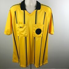 Score Goal Referee Official Soccer Jersey Adult Men's Size XL AXL Yellow