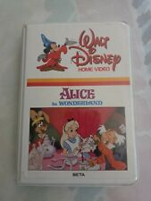 Alice in Wonderland Beta Tape BETAMAX