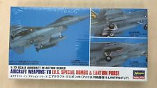 Hasegawa Aircraft Weapons Kit VII (US Special Bombs & Lantirn Pods) - 1:72 Scale