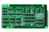 I/O Extension Board Kit for Arduino MEGA DIY. [SOLDERING REQUIRED]